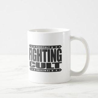 FIGHTING CULT - Savage Mixed Martial Arts Fanatics Basic White Mug
