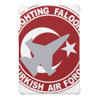 Fighting Faloon Turkish Air Force Military Patch iPad Mini Cover