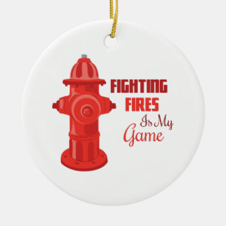 Fighting Fires Ornament