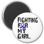Fighting For My Girl Arthritis 21 Refrigerator Magnet