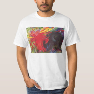 Fighting Forms (Kämpfende Formen) by Franz Marc T-Shirt
