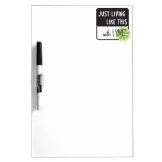 Fighting LYME disease Dry-Erase Board