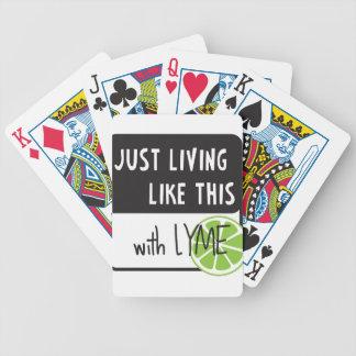 Fighting LYME disease Poker Deck