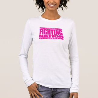 FIGHTING NATION - In Mixed Martial Arts, We Trust Long Sleeve T-Shirt