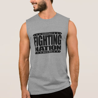 FIGHTING NATION - In Mixed Martial Arts, We Trust Sleeveless Tees