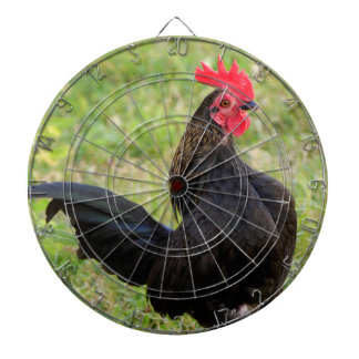 Fighting Rooster Dart Boards
