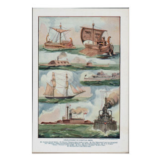 Fighting Ships Poster