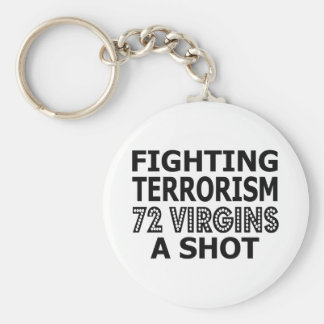 Fighting Terrorism By Virgins Keychains