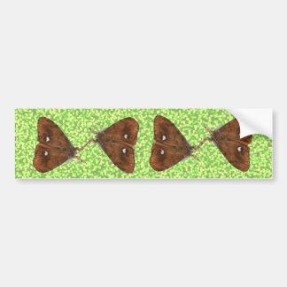 Fighting Vapourer Moths Bumper Sticker