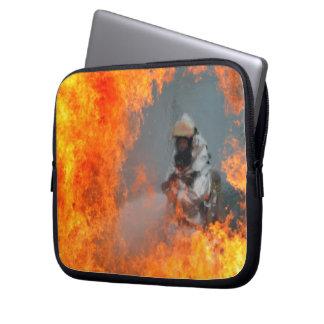 Fighting Wildfires Laptop Sleeve