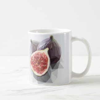 Figos Low Poly Basic White Mug