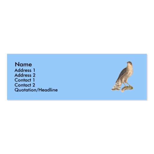 Figure 2 pack of skinny business cards