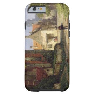 Figure before a Redbrick Church in a Dutch Town (o Tough iPhone 6 Case
