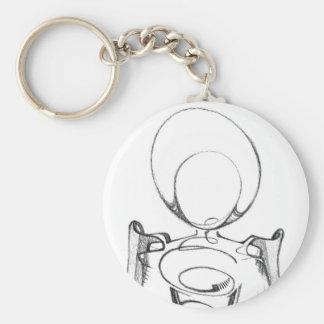 Figure Keychain by Aranonymous