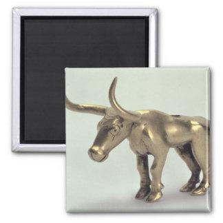 Figure of a bull magnet