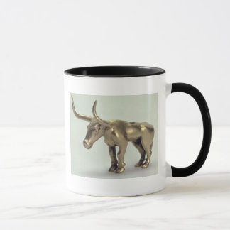 Figure of a bull mug