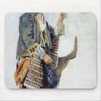 Figure of a girl in Turkish costume, 19th century Mouse Pad