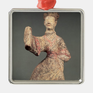 Figure of a male dancer, tomb artefact christmas ornament