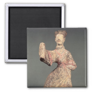 Figure of a male dancer, tomb artefact magnet