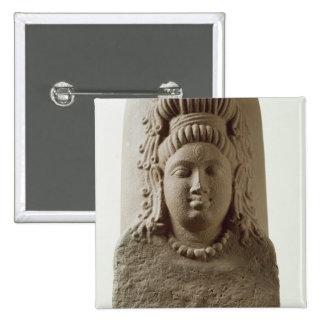 Figure of Ekamukha Siva-Linga from the Temple at K 15 Cm Square Badge