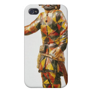 Figure of Harlequin from the Seraphin Theatre Covers For iPhone 4