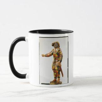 Figure of Harlequin from the Seraphin Theatre Mug