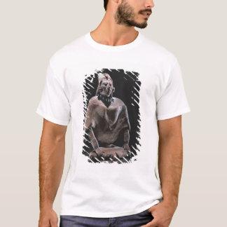 Figure of mayan seated king, from Isle ofJaina T-Shirt