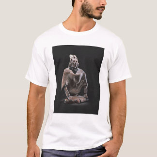 Figure of mayan seated king, from Isle ofJaina T-Shirt