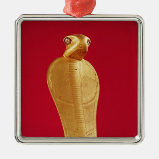 Figure of the cobra Netjer-Ankh Christmas Ornament