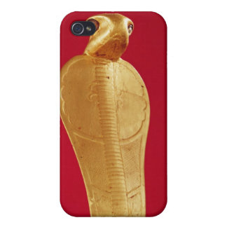 Figure of the cobra Netjer-Ankh iPhone 4 Cases
