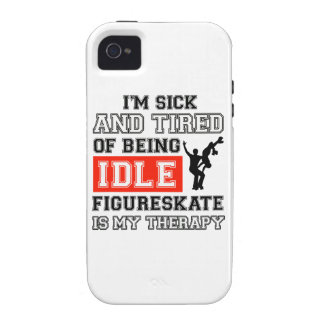 figure skate my therapy iPhone 4/4S case