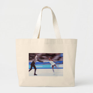 Figure Skater Tote Bags