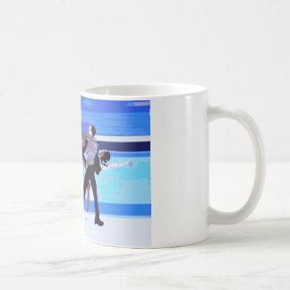 Figure Skater Basic White Mug