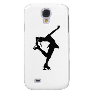 Figure Skater - Black White Galaxy S4 Case
