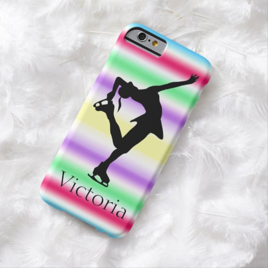 Figure Skater COLORFUL Personalised iphone 6 case