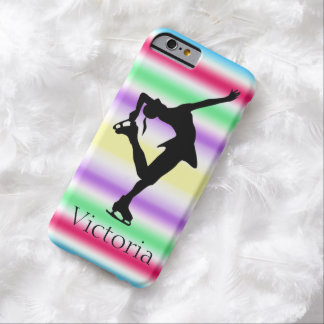 Figure Skater COLORFUL Personalized iphone 6 case Barely There iPhone 6 Case