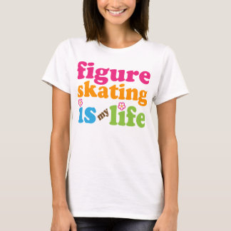 Figure Skater Gift Girls T-Shirt