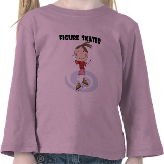 Figure Skater Girl Tshirts and Gifts