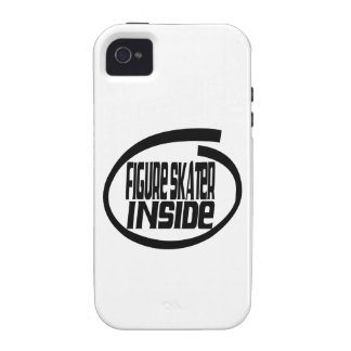 Figure Skater Inside Vibe iPhone 4 Covers