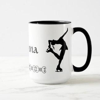 Figure Skater Mug - NAME