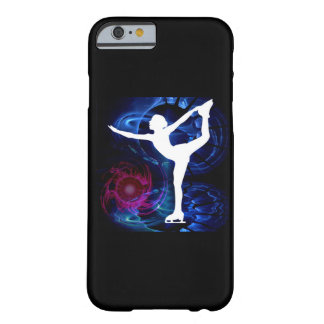 Figure Skater on Technicolor Ice Barely There iPhone 6 Case