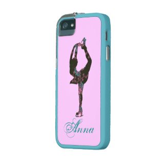 Figure Skater Pattern Personalized phone case iPhone 5 Covers