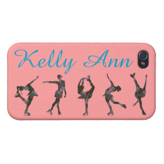 FIGURE SKATER PHONE CASE, PATTERN, NAME CASES FOR iPhone 4