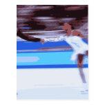 Figure Skater Postcard