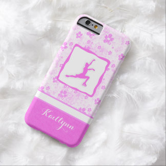 Figure Skater Pretty in Pink Floral iPhone 6 Case Barely There iPhone 6 Case