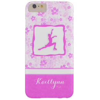 Figure Skater Pretty in Pink Floral iPhone 6 Case Barely There iPhone 6 Plus Case
