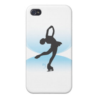 Figure Skater Spin Covers For iPhone 4