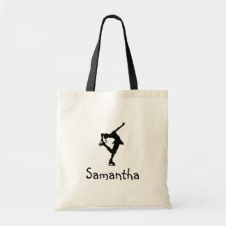 Figure Skater Tote Bag - Add Name
