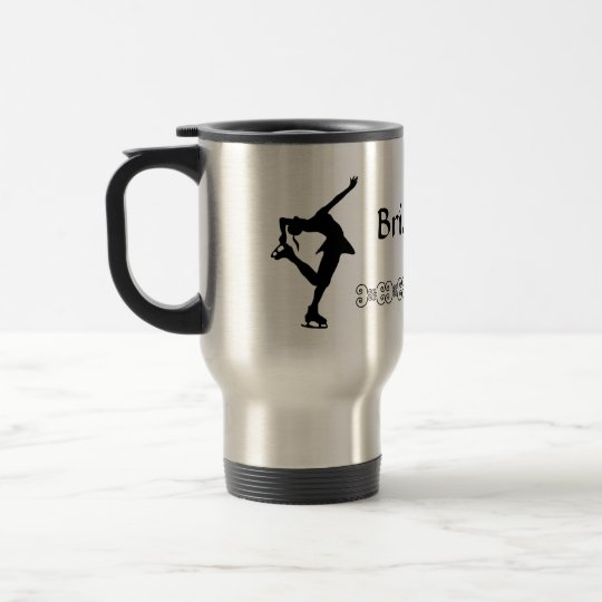 Figure Skater Travel Mug - NAME