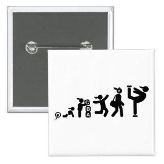 Figure Skating 15 Cm Square Badge